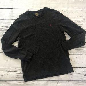 Polo Ralph Lauren grey long sleeve T-shirt